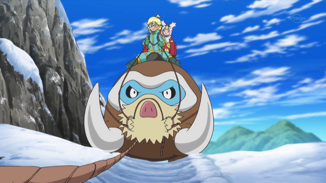 File:Clemont and Bonnie Mamoswine XY083.png