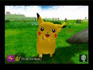 Smiling Pikachu