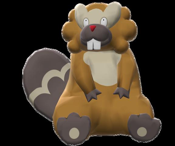 File:400Bibarel Pokemon Battle Revolution.png