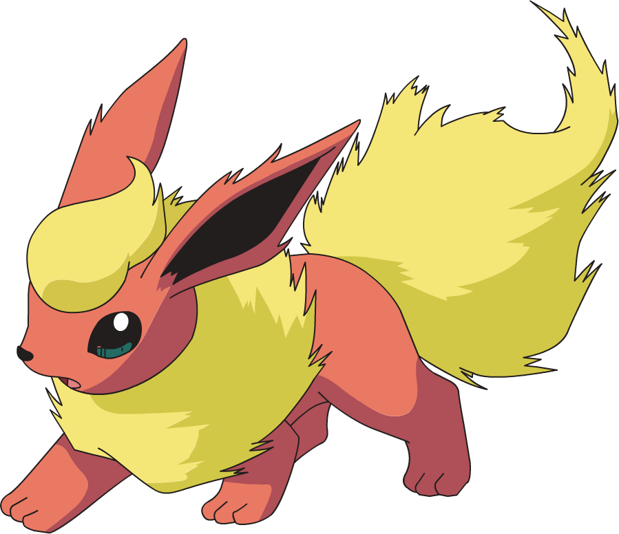 Flareon Pok 233 Mon Wiki Fandom Powered By Wikia