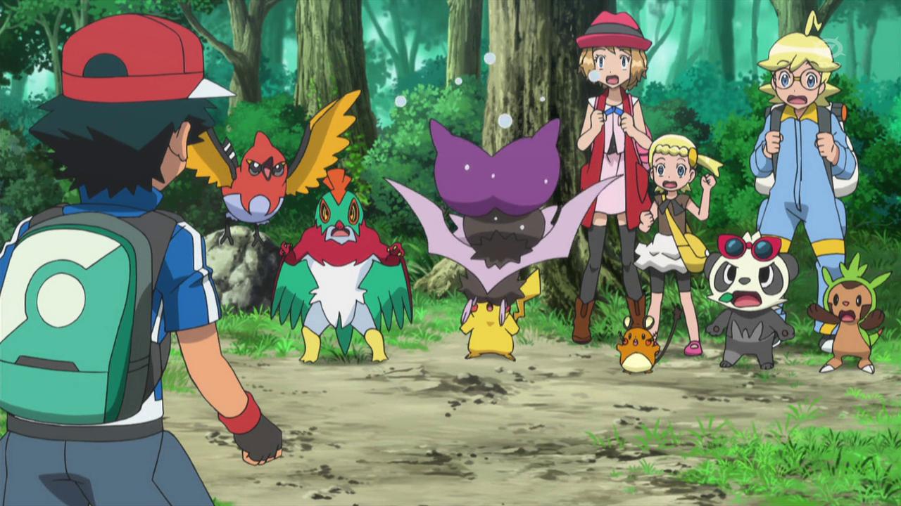 XY076: A Not-So-Flying Start! | Pokémon Wiki | Fandom ...