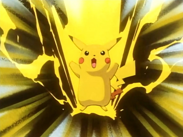File:PLEEI Pikachu Thunderbolt.png
