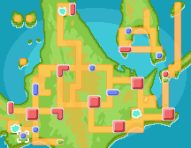 Twinleaf Town Map