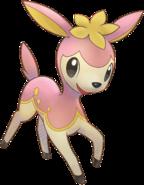 585Deerling Pokemon Super Mystery Dungeon