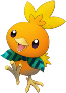 255Torchic Pokémon Super Mystery Dungeon