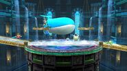 Siebold's Room Kalos Pokémon League Smash Wii U