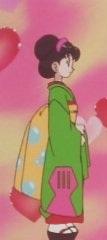 Sumomo in her Kimono