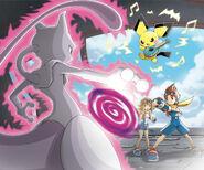 VS Mewtwo Pokemon Ranger Guardian Signs