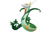 Serperior-PokePark2-Art
