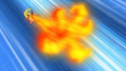 Virgil Flareon Fire Blast