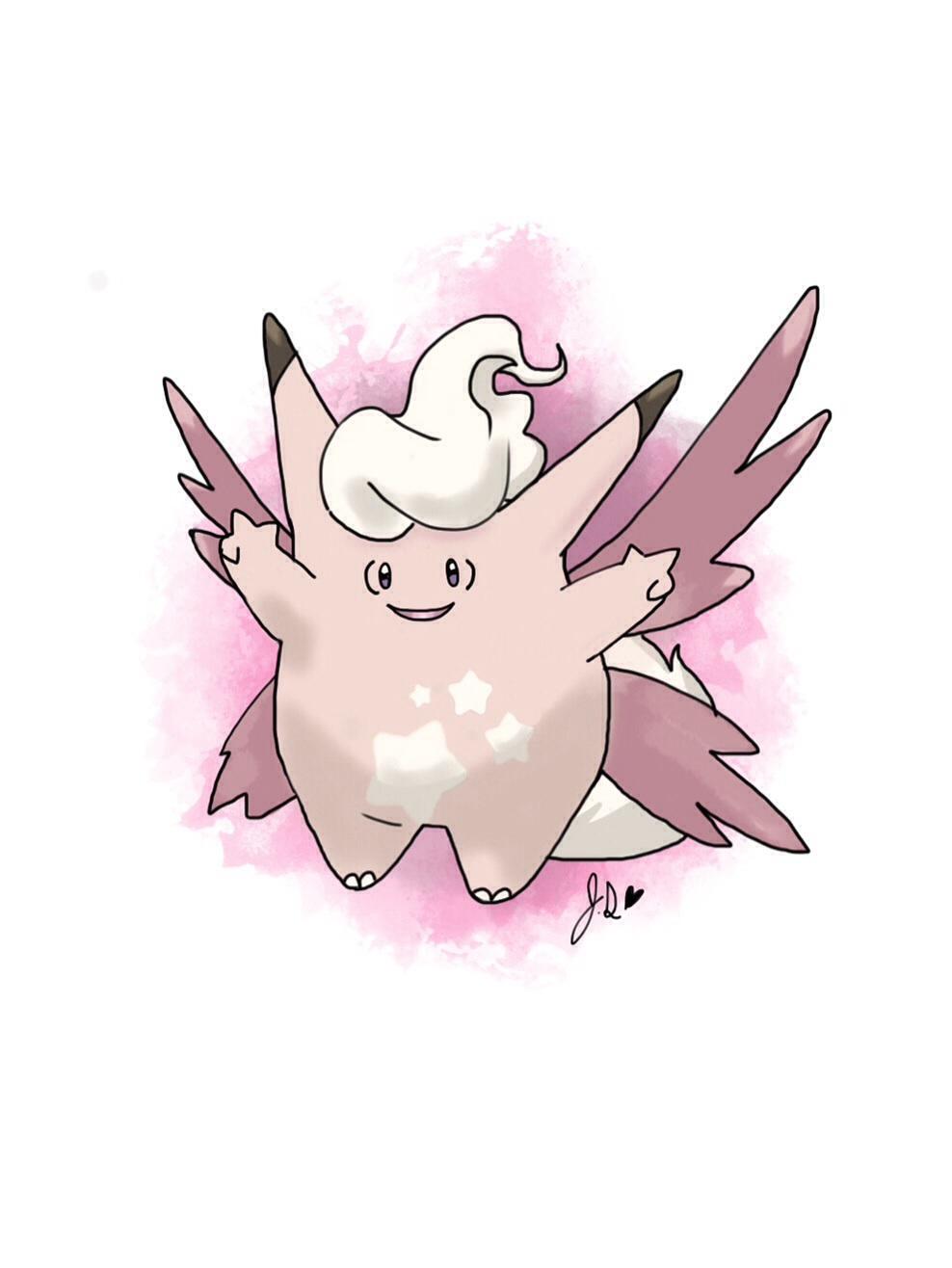 Clefable Clefable new mega