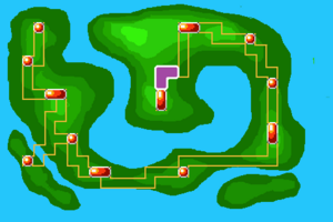 Map Route 8X