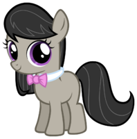 Octavia as a filly mlp fim by atomicgreymon-d3gd5mi