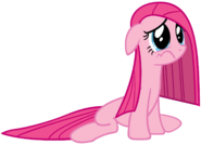 Pinkie pie with a deflated mane