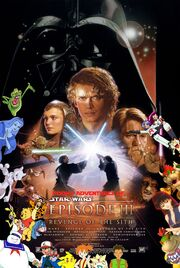 Pooh's Adventures of Star Wars Episode III Revenge of the Sith Poster