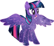 Galaxy twilight sparkle vector by minkystar-d79imoa