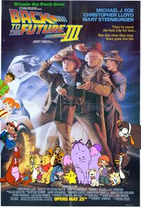Winnie the Pooh Goes Back to the Future Part III Poster