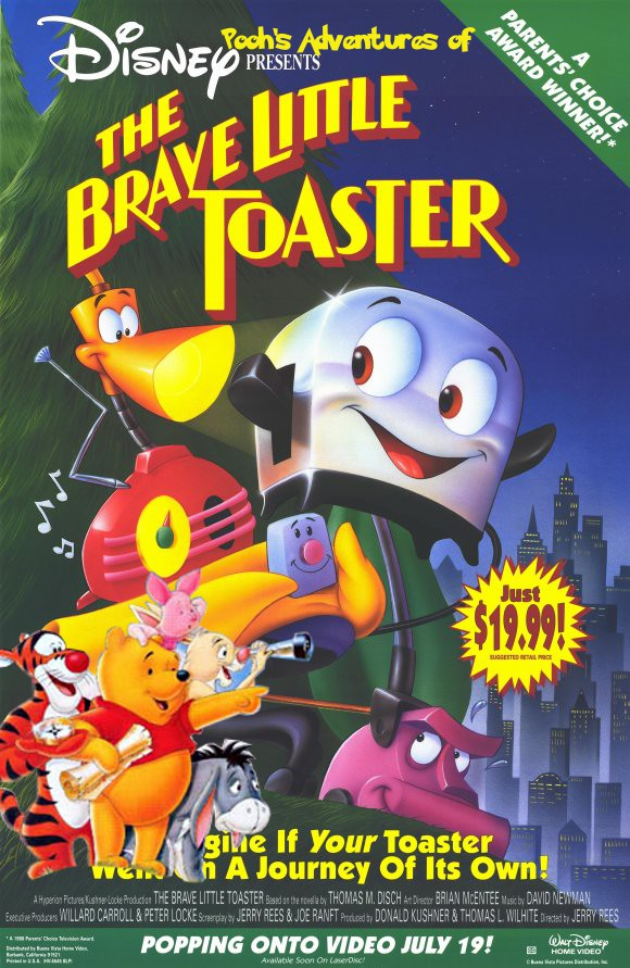 Pooh S Adventures Of The Brave Little Toaster Pooh S