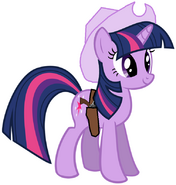 Twilight cowgirl