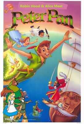 Robin Hood and Alice Meet Peter Pan poster