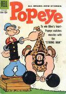 Bluto Strongman Cover 1960
