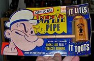 Popeye Toy Pipe