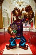 Jeff Koons' Popeye Statue