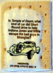 Indiana Jones Brown Sugar Cinnamon Example