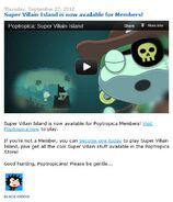 Super Villain Island is now available for Members!
