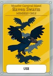 Raven Swarm Members only MCI