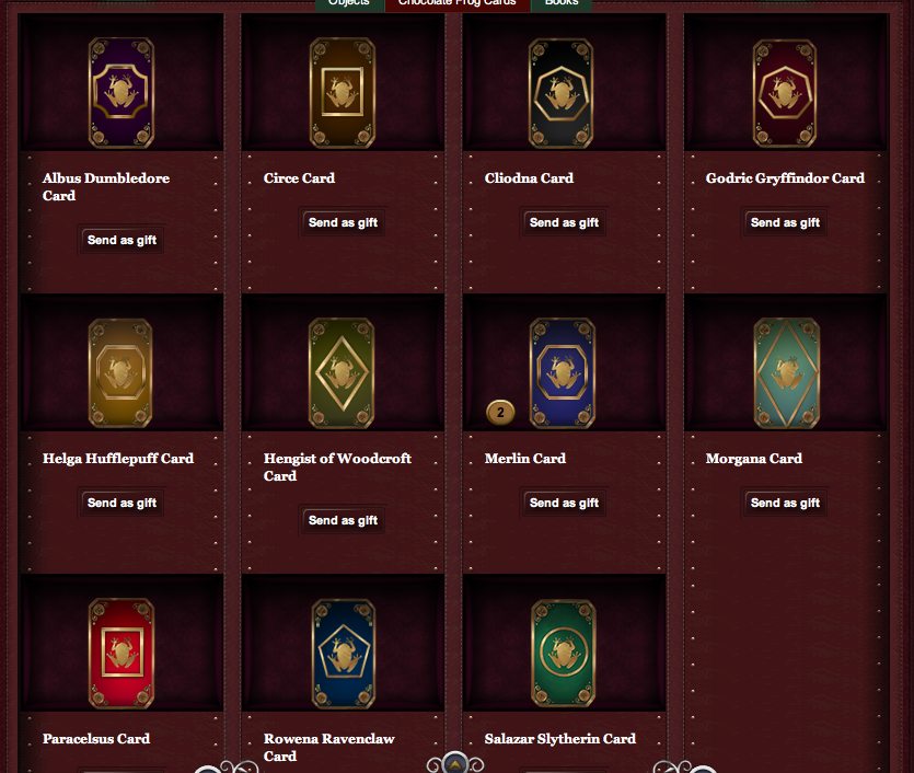 Chocolate Frog Cards Pottermore Wiki Fandom Powered By