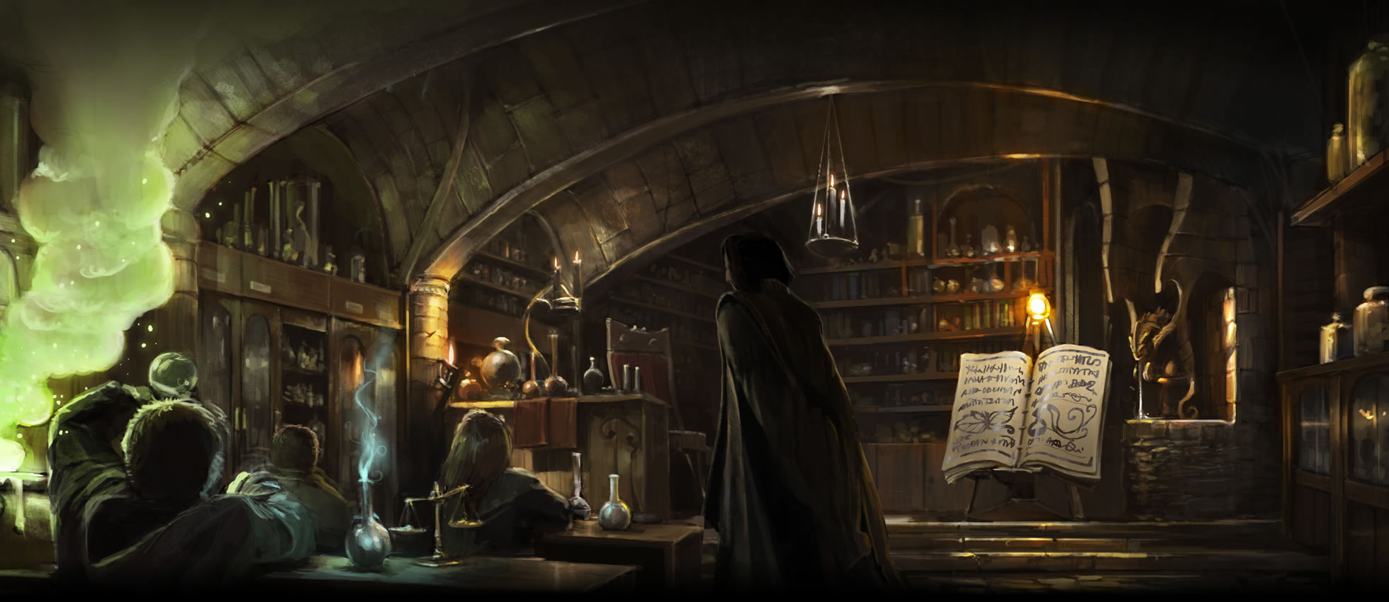 Harry 39 s first potions lesson pottermore wiki fandom - A tavola con harry potter ...