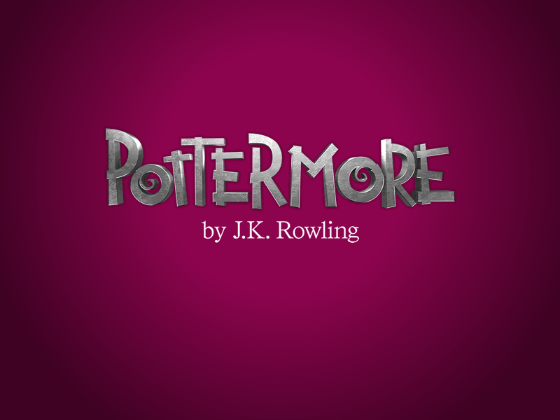 Pottermore logo from the site's launch in 2011