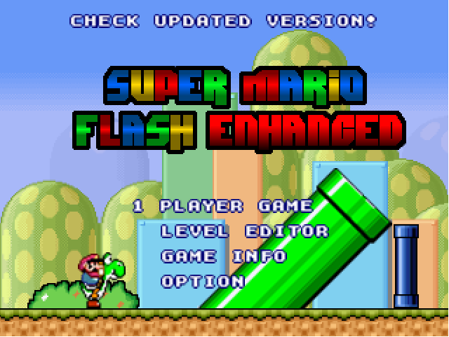 super mario 1 flash