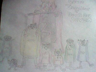 Count Zanzibar and the Devil Dog Seven