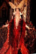 Monica Bellucci as Mirror Queen