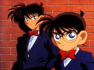 Appearance of Shinichi and Conan