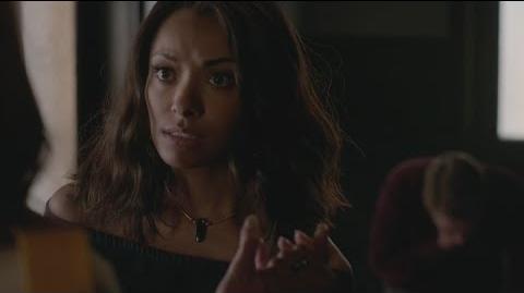 Nora (The Vampire Diaries) chokes Matt