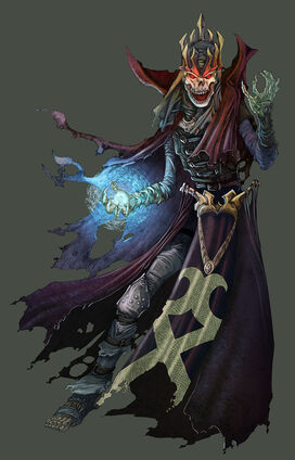 D D4th Lich by UdonCrew