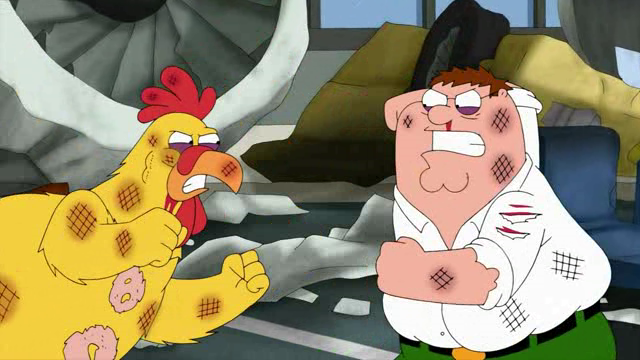 File:Peter Griffin vs. Ernie the Giant Chicken.png