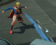 Supergirl Ice Breath