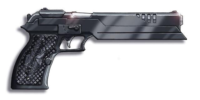 File:Shadowrun Pistol by Knightwatch.jpg