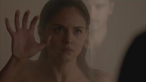 The Vampire Diaries 7x12 - Enzo burns Rayna's body HD