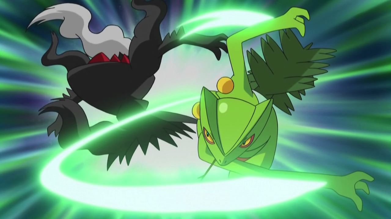 Blade Pokemon x Pokemon Using Leaf Blade