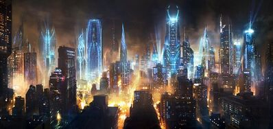Magitech city