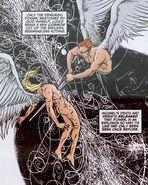 Michael Lucifer DC Vertigo Cosmos creation