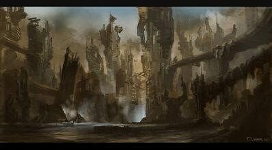 Yithian city-world