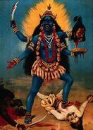220px-Kali by Raja Ravi Varma