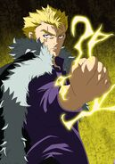 Laxus dreyar fairy tail 357 by rogerwolf27-d6s7oh4
