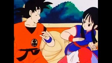Goku Defeats Chi Chi Without Touching Her (Japanese)